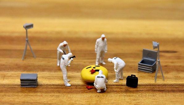 Police, Crime Scene, Murder, Forensics, Miniatures