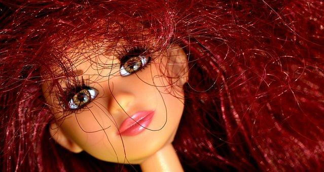 Doll, Pretty, Face, Eyes, Beauty, Hair, Girl, Play