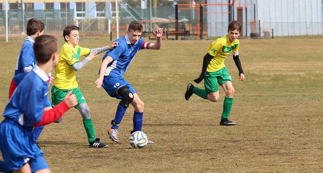 Football, Pupils, Sport, Football Playground, Match