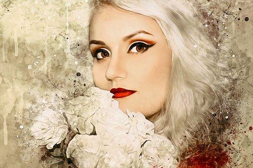 Fashion, Beautiful, Portrait, Girl, Woman, Young