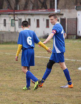 Football, Pupils, Older Pupils, Teammates, Goal