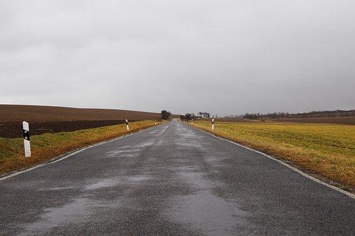 Road, Asphalt, Landscape, Highway, Sky, Nature, Empty