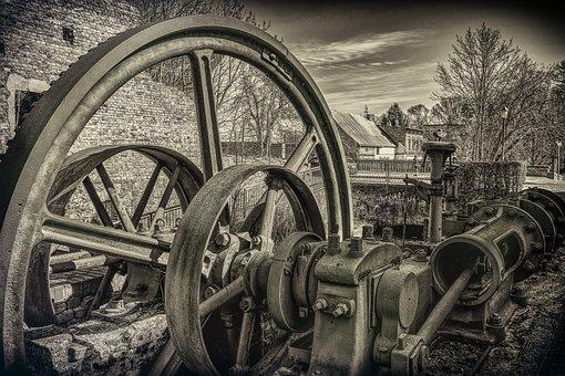 Technology, Machine, Lock, Historically, Drive