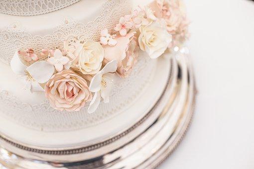 Food, Cream, Plate, Cake, Wedding Cake, Luxury