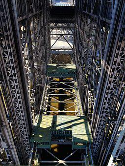 Boat Lift, Industry, Steel, Company, Mill, Architecture