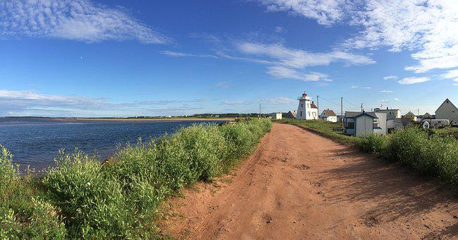 North Rustico, Prince Edward Island, Canada, Lighthouse
