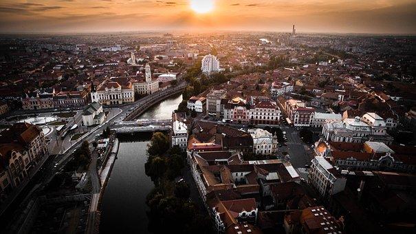 Romania, Oradea, Center, Union Square