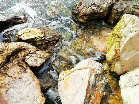 Roche, Nature, Pierre, Body Of Water, Wallpaper, Sea