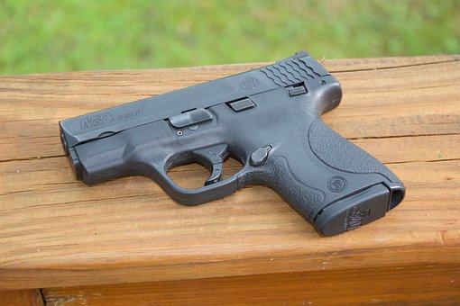 Gun, Weapon, Wood, Pistol, Protection