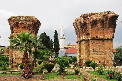 Thyatira, Turkey, Byzantine, Ruins, Ancient, Mosque