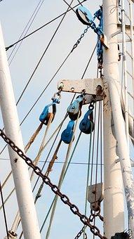 Sail, Rigging, Dew, Sailing Boat, Ship Mast, Yacht