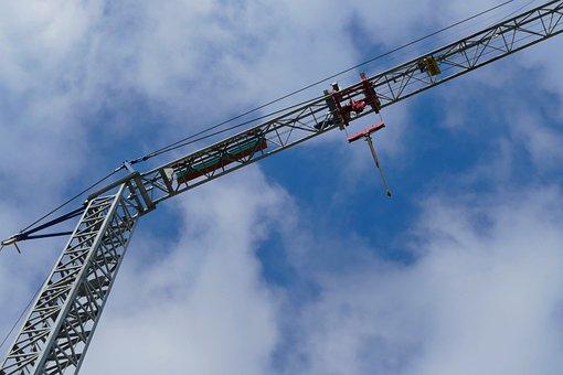 Industry, Sky, Crane, Machine, Expression, High, Steel