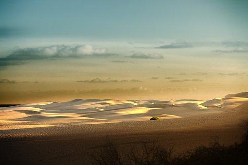 Sunset, Dawn, Nature, Sky, Sun, Horizontal, Panorama