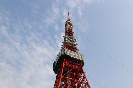 Tokyo Tower, Sky
