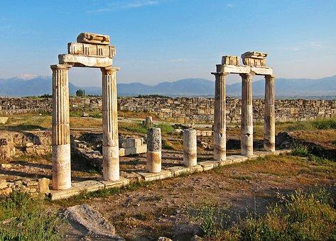 Turkey, Hierapolis, Ancient, Travel, Tourism, History