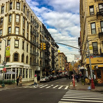 Street, City, Tourism, Town, Travel, Little Italy