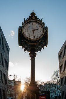 Clock, Architecture, Megalopolis, Travel, Tallinn