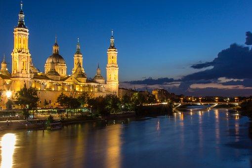 Architecture, Travel, City, River, Urban Landscape