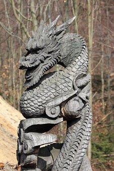 Nature, Wood, Park, Sculpture, Statue, Tree, Carve