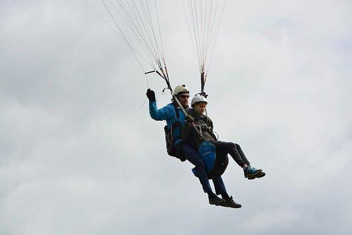 Paragliding Bi-place, Paragliding, Two Selettes