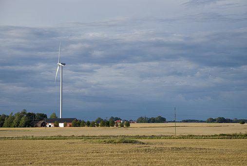 Windmill, Farm, Turbine, Energy, Electricity, Wind