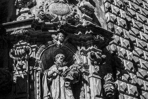 Baroque, Barcelona, Ramblas, Church