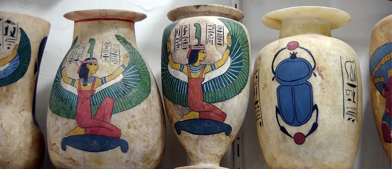 Egypt, Bazaar, Vases, Pierre, Memory, Traditional, Art