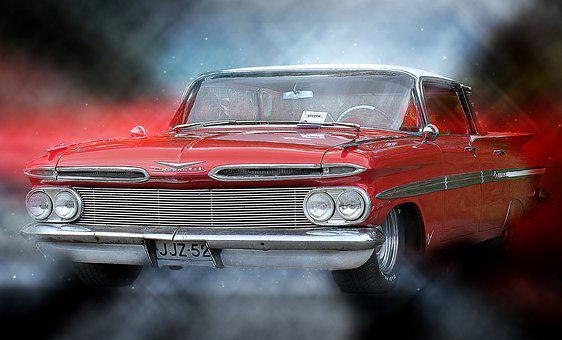 Car, Motor Show, Old, Classic, Auto, Transportation
