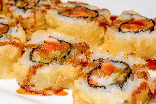 Food, Meal, Dinner, Lunch, Epicure, Fish, Sushi