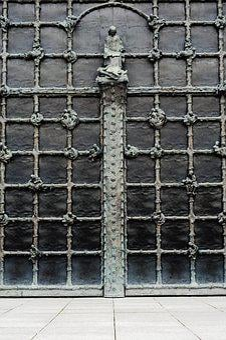 Architecture, Wallpaper, Wall, Door, Medieval