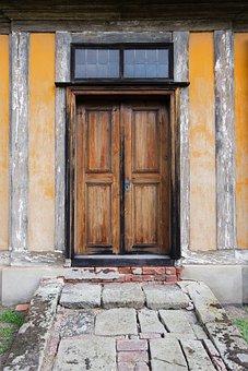 Architecture, Door, Window, Home, Wood, Building