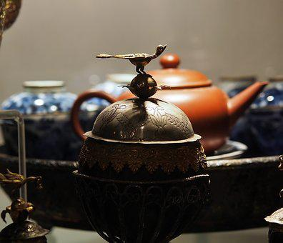 Drink, Coffee, Cup, Tea, Teapot, Pot, Vintage, Old