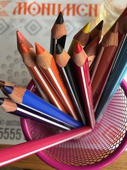 Pencil, Education, Creativity, Composition, Crayon