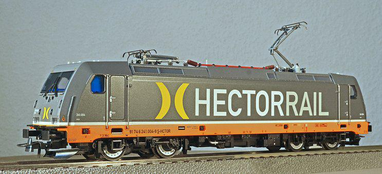 Electric Locomotive, Model, Scale H0, Private Railway