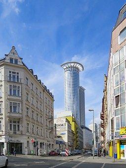 Frankfurt Main, Skyscraper, Dz Bank, City, Architecture