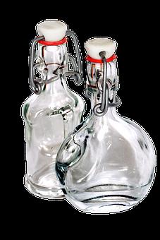 Bottles, Glass Free, Transparent, Liquid