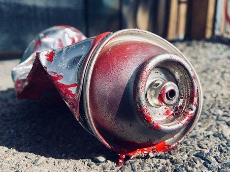 Graffiti, Box, Paint, Spray Can, Spray, Street Art