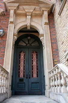 Building, The Entrance, Door, Bill, Old, Journey, Arch