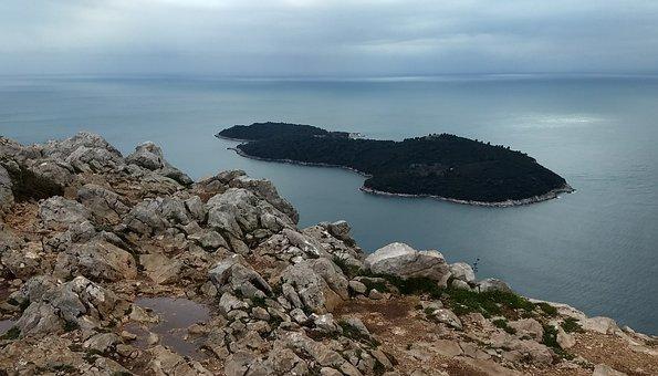 Waters, Nature, Landscape, Coast, Sea, Dubrovnik