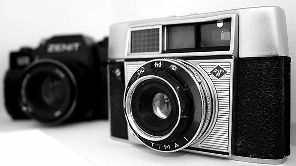 Lens, Camera, Photo, Photographic Equipment, Old Camera