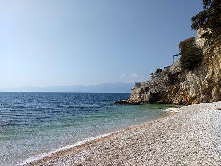 Sea, Nature, Coast, Waters, Beach, Croatia, Rijeka