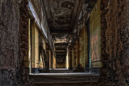 Architecture, Old, Abandoned, Gang, Building