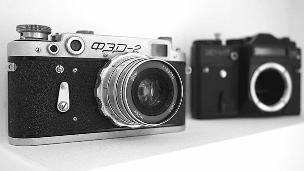 Lens, Okiennica, Viewfinder, Camera, Zoom, Old