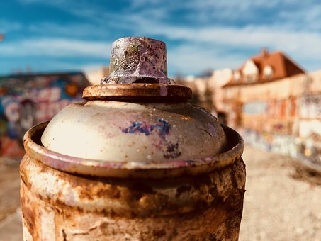 Spray Can, Paint, Environment, Pollution, Street Art