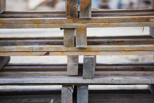Wood, Industry, Old, Expression, Woods, Pallets, Craft