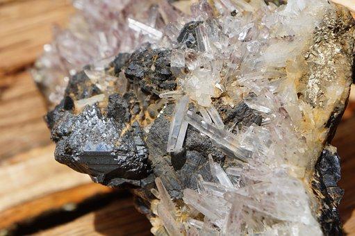 Nature, Crystal, Gem, Quartz, Closeup, Rock, Stone