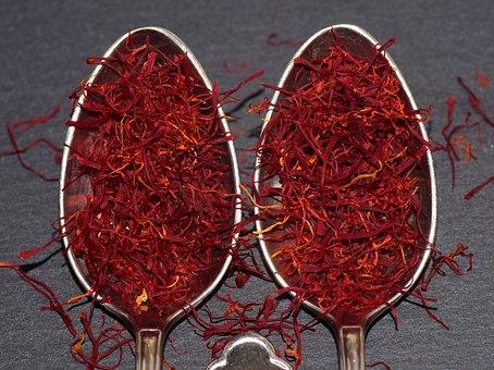 Saffron, Saffron Strands, Kitchen, Cook, Taste, Aroma