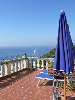 Travel, Sea, Landscape, Summer, Side, Blue Sky, Water