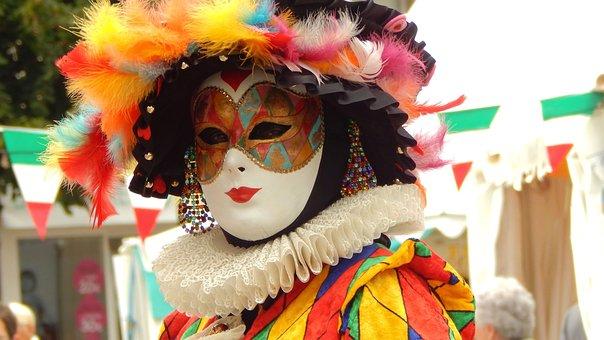 Mask, Venetian, Disguise, Festival, Hide