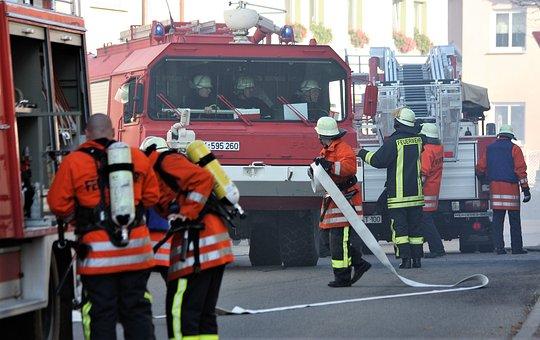 Ehrenamt, Fire, Rescue, Brand, Delete, 112, Vehicles